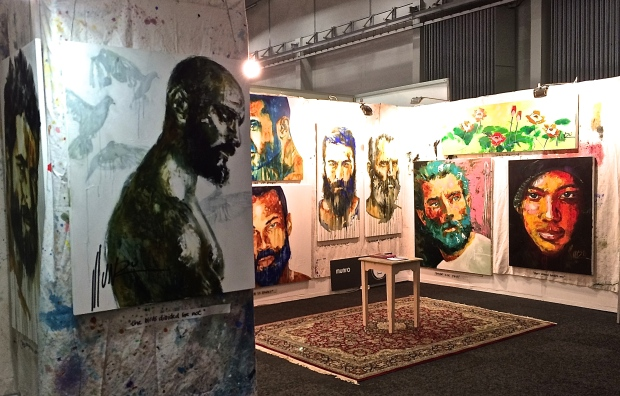 be men of courage exhibition - Cape Town 2015