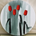 """red tulips"""