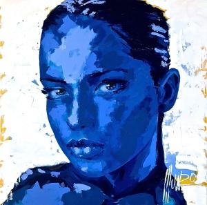M12459 in blue 150 x 150 x 5 cm 58,000