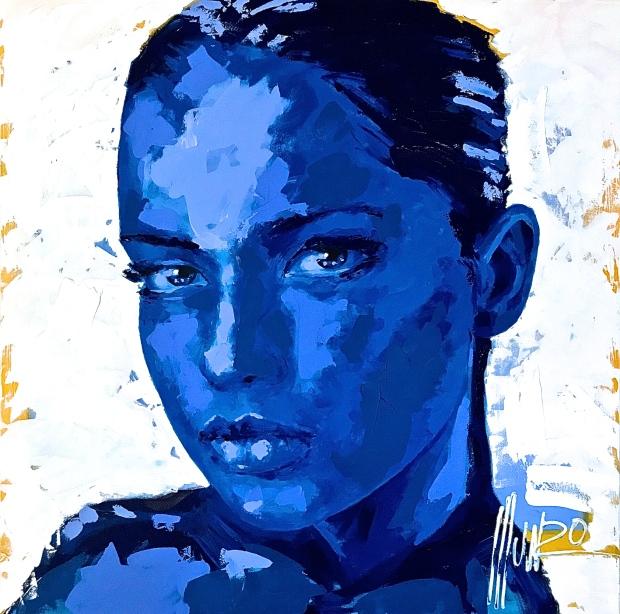 """""""in blue"""""""